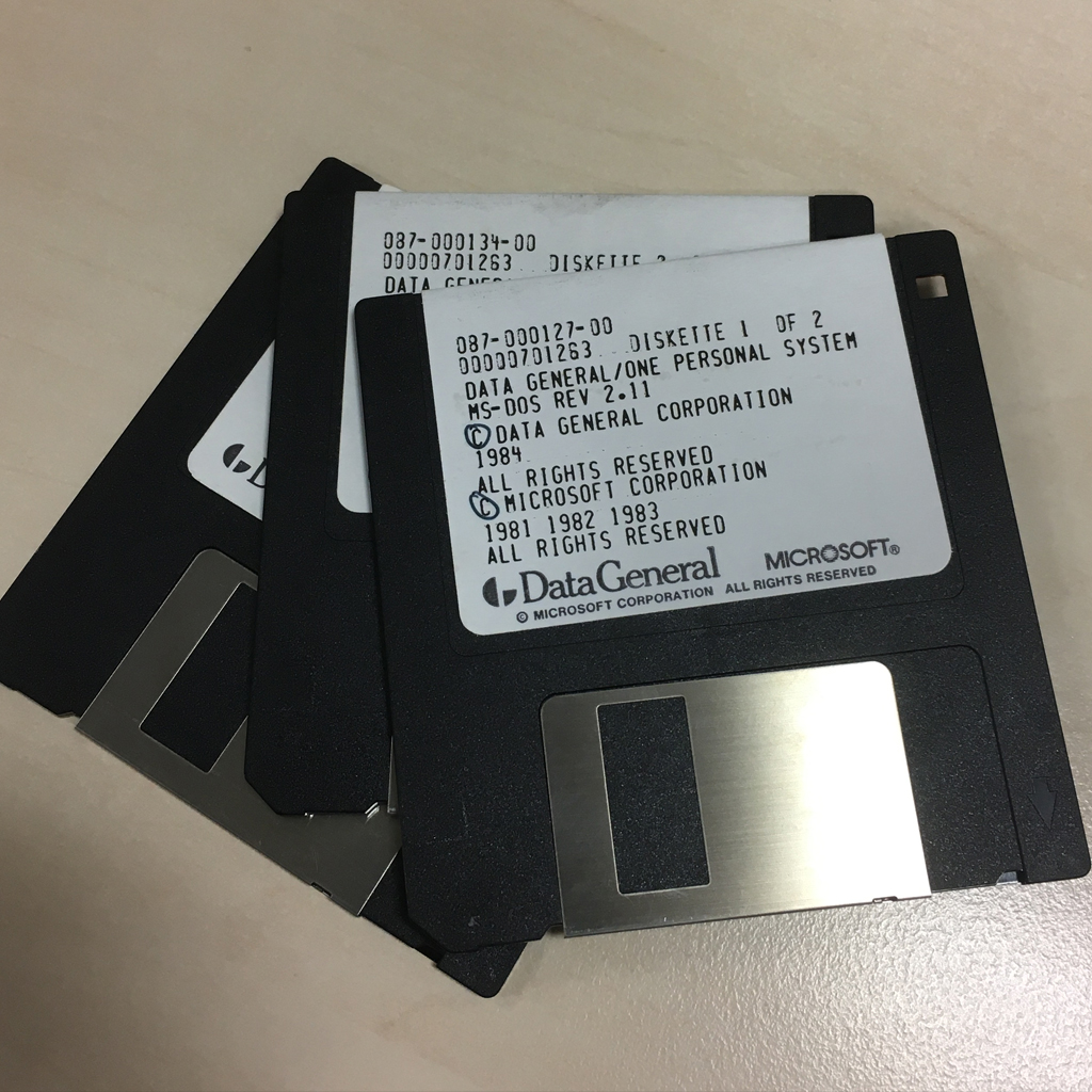 Data General Floppy Disks